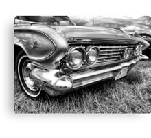 Buick Grill Canvas Print