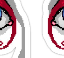 Pixel Eyes  Sticker