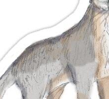 Gray Fox Sticker