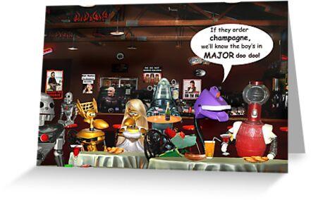 ~ So these robots walk into a bar ...  by Nadya Johnson