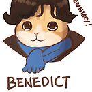 Benedict Cumbercat by derlaine
