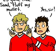 Occupation: Mullet Fluffer by seabsbiscuit