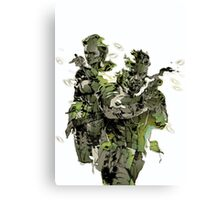 Metal Gear Solid Snake Eater Canvas Print