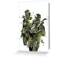 Metal Gear Solid Snake Eater Greeting Card