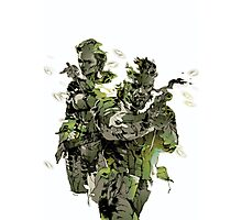 Metal Gear Solid Snake Eater Photographic Print