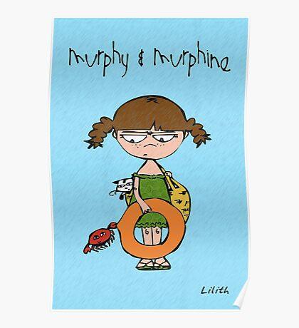 Murphy & Murphine - Beach day Poster