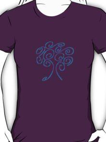 blue fire tree of life T-Shirt