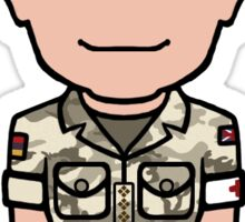 Captain John Watson (sticker) Sticker