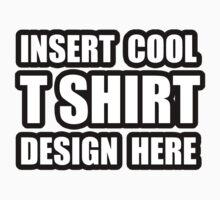 INSERT COOL DESIGN by cadellin
