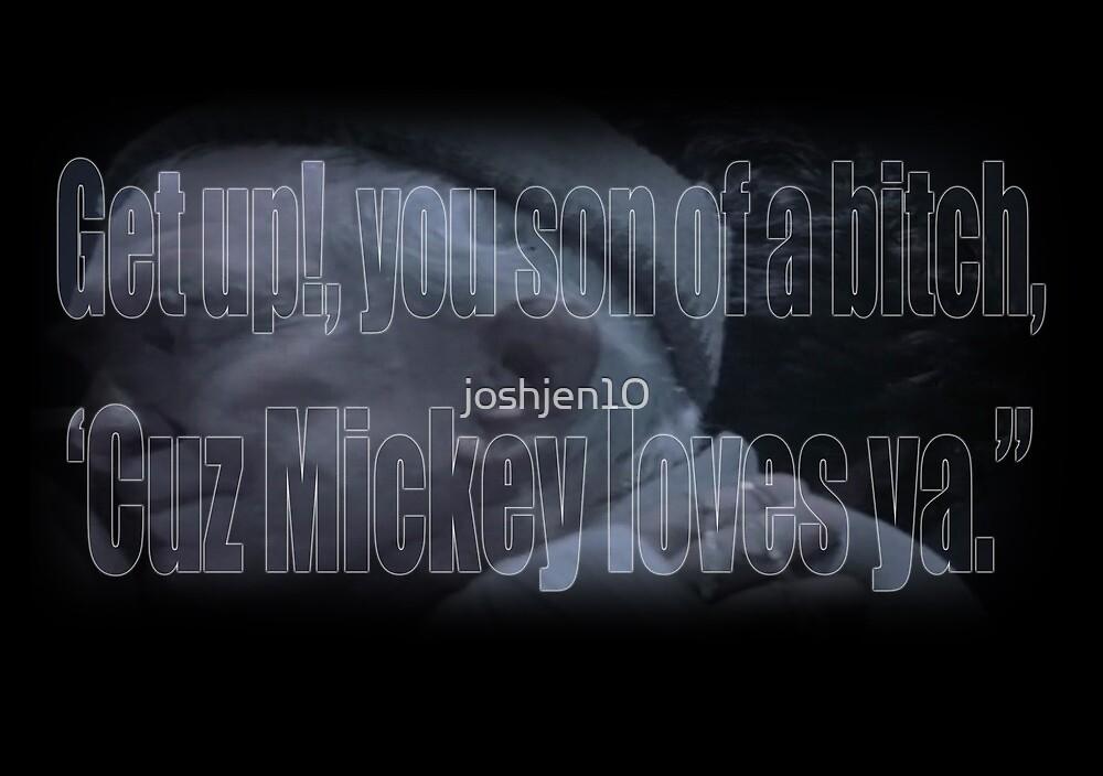 Mickey Loves Ya - Rocky by joshjen10