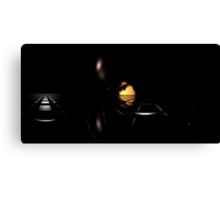 Darkness Borrows Light Canvas Print