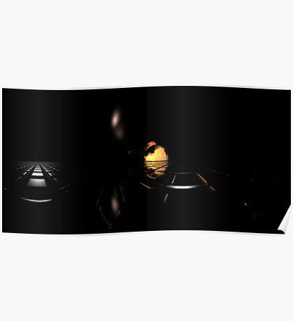 Darkness Borrows Light Poster