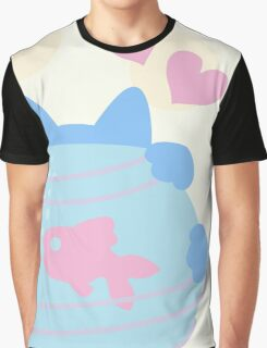 Pastel Wool Web  Graphic T-Shirt