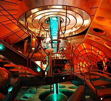 Interior 11 TARDIS by littleredfez