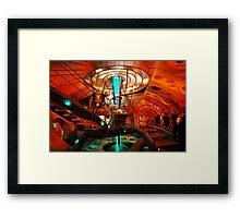 Interior 11 TARDIS Framed Print