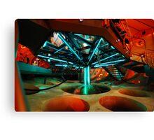 Interior 11 TARDIS - Underside Canvas Print