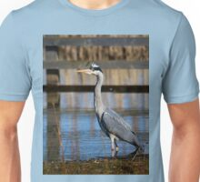 Grey Heron Unisex T-Shirt
