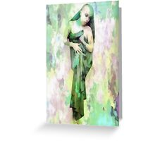 The Ascension of Iris Greeting Card