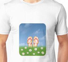 flip-flop city Unisex T-Shirt