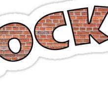 Roller Derby Blocker Sticker