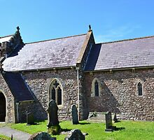 St Madoc's Church, Llanmadoc by Paula J James