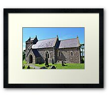 St Madoc's Church, Llanmadoc Framed Print