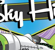 Sky High Sticker