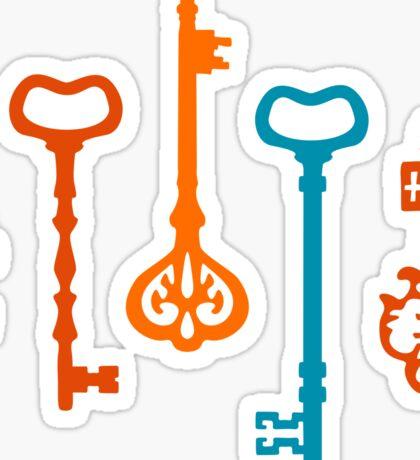 Pumpkin Keys Sticker