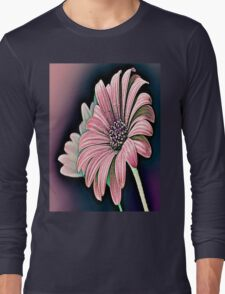 Colorful Daisy Long Sleeve T-Shirt