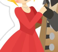 OUAT - Captain Swan Formal Sticker
