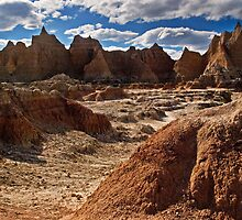 In the Badlands by Kathy Weaver