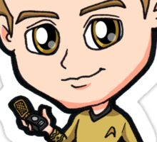 Star Trek TOS - Captain James Tiberius Kirk Chibi Sticker