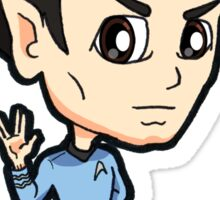 Star Trek TOS - First Officer Spock Chibi Sticker