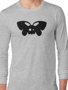 Cute Skull Moth Long Sleeve T-Shirt