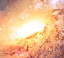 Amazing Spiral Galazy [Messier 106] | Fresh Universe Sticker