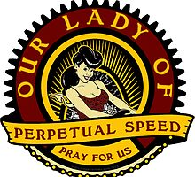Our Lady Of Speed by Coupecustoms