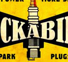 Champion Rockabilly Spark Plugs Sticker