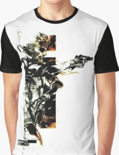 Metal Gear Solid: Solid snake Graphic T-Shirt