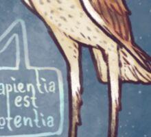 The Fallen Angel Stolas Sticker