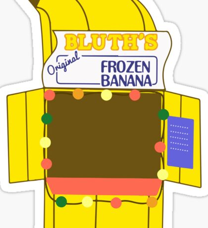 Banana Stand Sticker