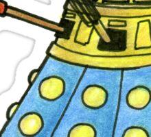 Blue Dalek Sticker