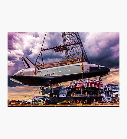 Last Flight of the SS Enterprise Photographic Print