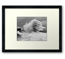 Porthcawl Lighthouse Framed Print