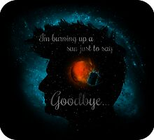 Goodbye Ten Text (sticker) by RebelArts