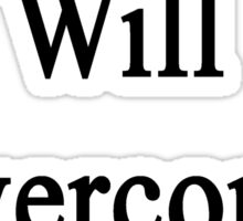 This Cellist Will Overcome Cancer  Sticker