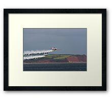 SWIP Display Team Dawlish Airshow Framed Print