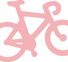 Baby Pink Bike with Stripes by XOOXOO