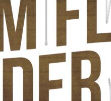Flim Flam Cider Co. Sticker