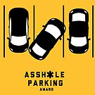 Parking Sticker Award - For TURDS - Parking Sticker by lapart