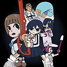 Ryuko Matoi vs The School (sticker) by num421337